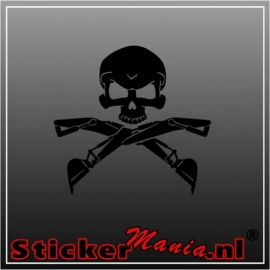 Skull 13 sticker