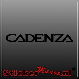 Kia cadenza sticker