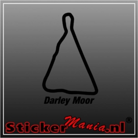 Darly moor circuit sticker
