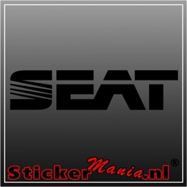 Seat 2 sticker