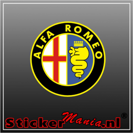 Alfa Romeo Logo 1 Full Colour sticker