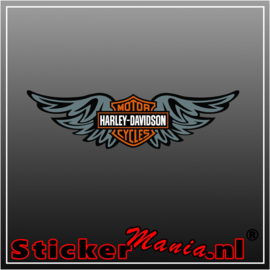 Harley davidson wing Full Colour sticker