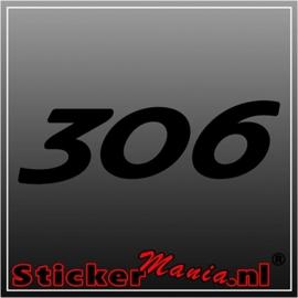 Peugeot 306 sticker