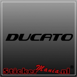 Fiat ducato sticker