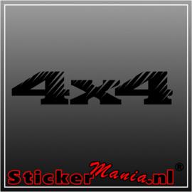 4x4 15 sticker