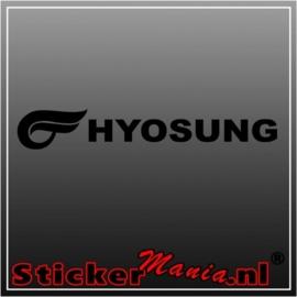 Hyosung sticker