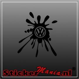 Volkswagen verf spetter sticker