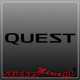 Nissan quest sticker