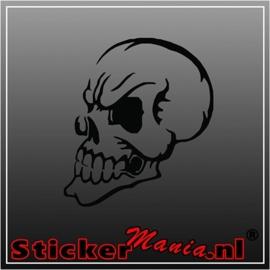 Skull 60 sticker