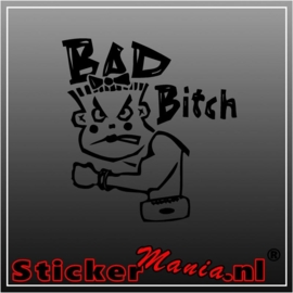 Bad bitch sticker