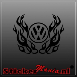 Tribal volkswagen 4 sticker