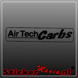 Air tech carbs sticker