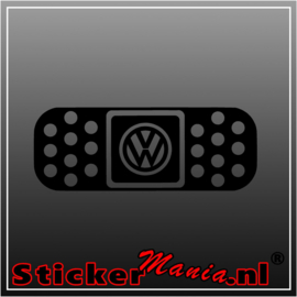Volkswagen pleister sticker