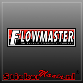 Flowmaster Full Colour sticker