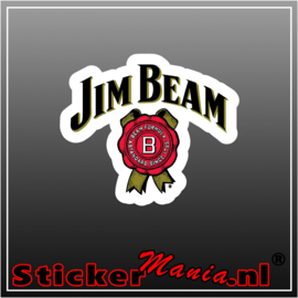 Jim Beam Full Colour sticker
