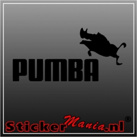 Pumba sticker