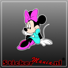 Minni Mouse 2 Full Colour sticker