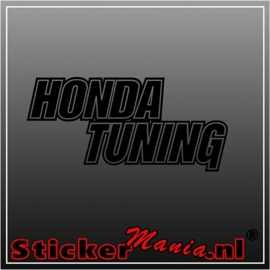Honda tuning sticker
