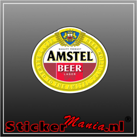 Amstel Full Colour sticker