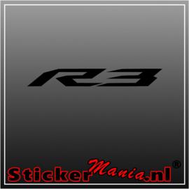 Yamaha R3 sticker