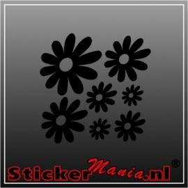 Bloemen sticker
