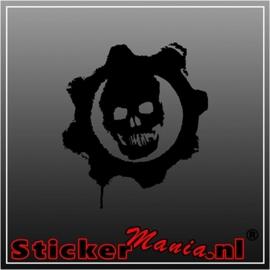 Skull 73 sticker