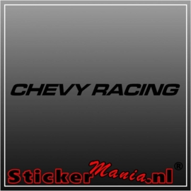 Chevy racing raamstreamer sticker