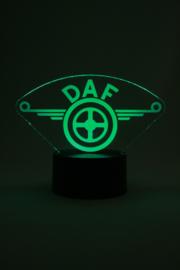 Daf logo led lamp