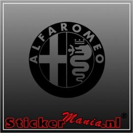 Alfa romeo logo sticker