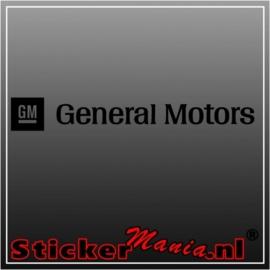 General motors sticker