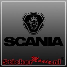 Scania 4 sticker