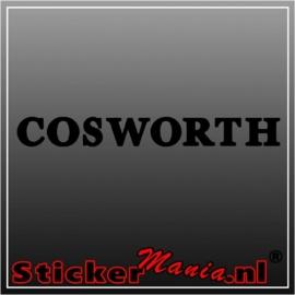 Cosworth sticker