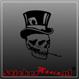 Skull 24 sticker