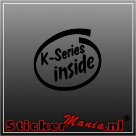 K series inside sticker