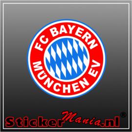 Fc Bayern munchen full colour sticker