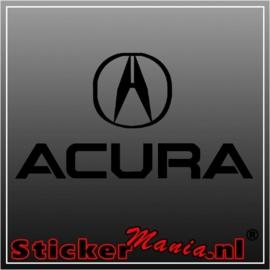 Acura sticker