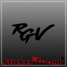 Suzuki RGV sticker