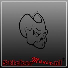 Skull 62 sticker