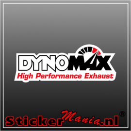 Dynomax Full Colour sticker
