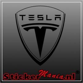 Tesla logo sticker