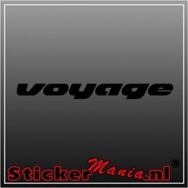 Volkswagen voyage sticker