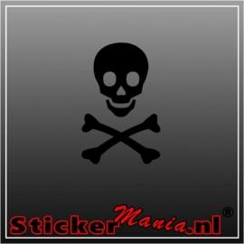 Skull 2 sticker