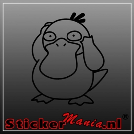 Psyduck sticker