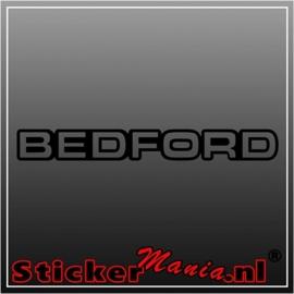 Bedford caravan sticker