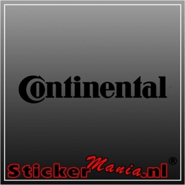 Continental sticker