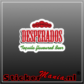 Desperados Full Colour sticker
