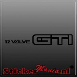 Nissan sunny 12 valve GTI sticker