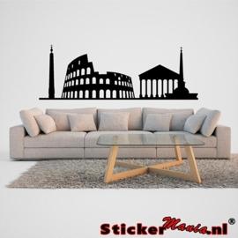 Skyline rome muursticker