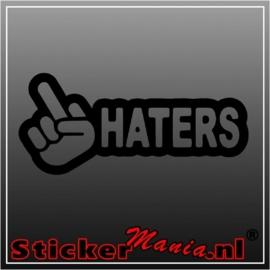 F*ck haters sticker