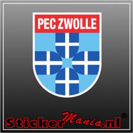 PEC Zwolle Full Colour sticker